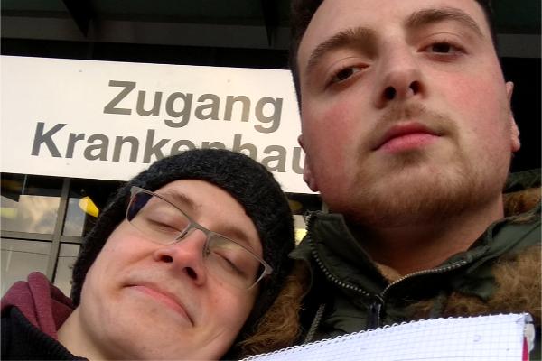 Jonas Werling und Nuri Yildiz